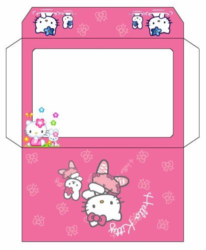 Enveloppe hello kitty - Hello kitty a imprimer ...